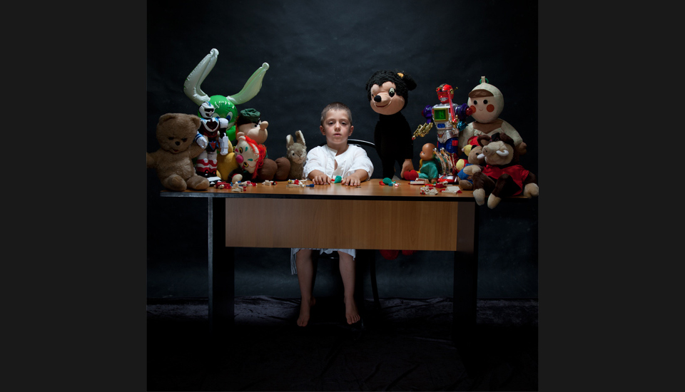 The Last Supper / photo on alluminium, 140 x 140 cm, 2011