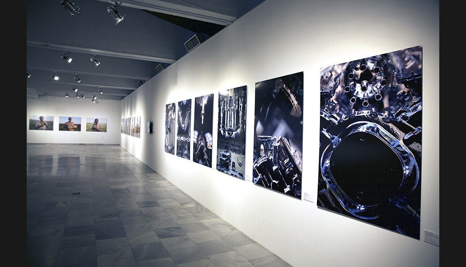 Sofia City Art Gallery, 0 for Blach 1 for White, exhibition view, 2018